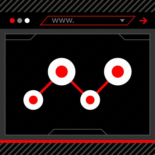 connect, data, seo icon