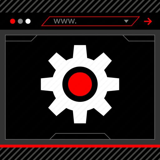 options, settings, setup icon