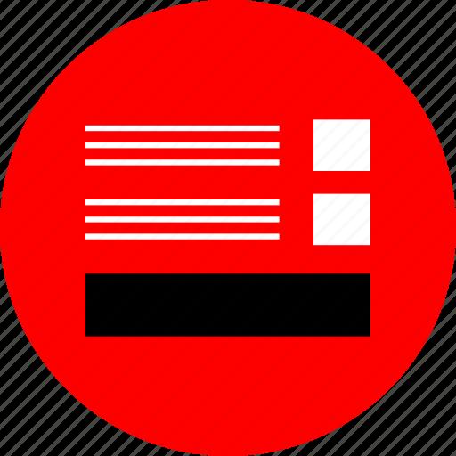 layout, ui, ux, web icon
