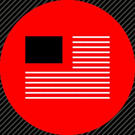 news, ui, web icon