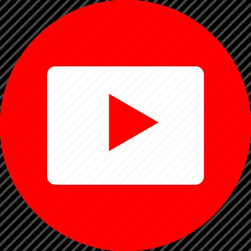 play, youtube, youtuber icon