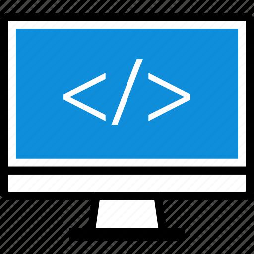 code, development, mac, pc icon