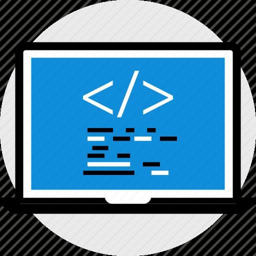 coding, develope, hacking icon