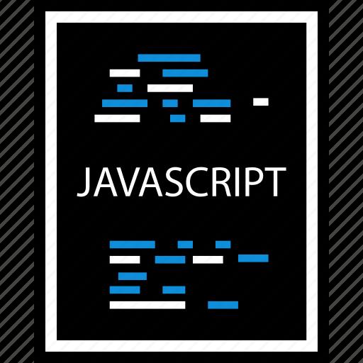 document, javascript, web icon