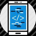 code, phone, web