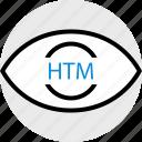 htm, search, web icon