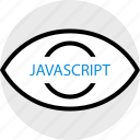 javascript, programming, search icon