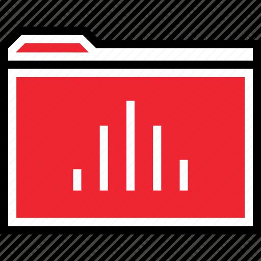 archive, bars, data icon