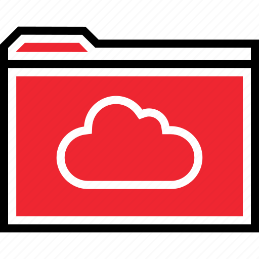 archive, cloud, save icon