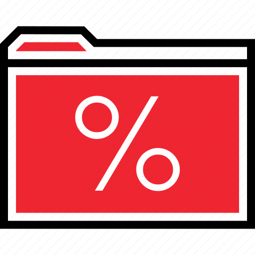 archive, interest, rate icon