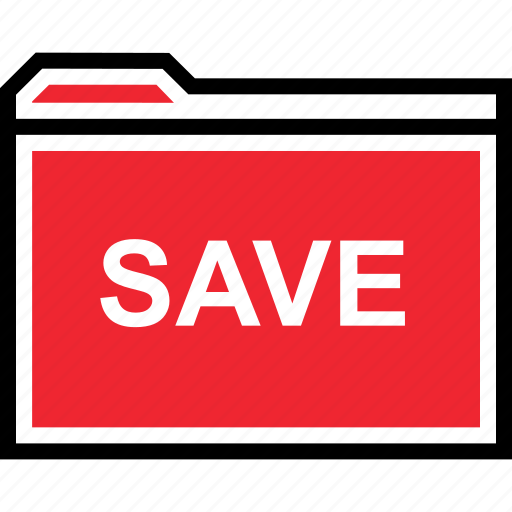 archive, now, save icon