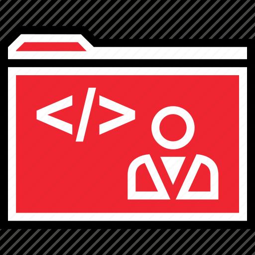 archive, developer, web icon