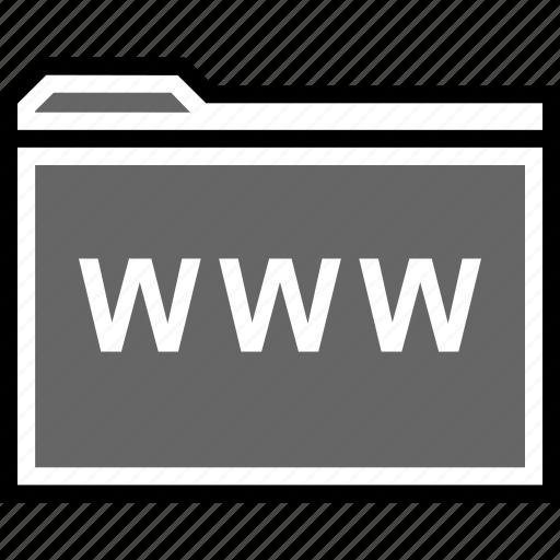 archive, visit, www icon