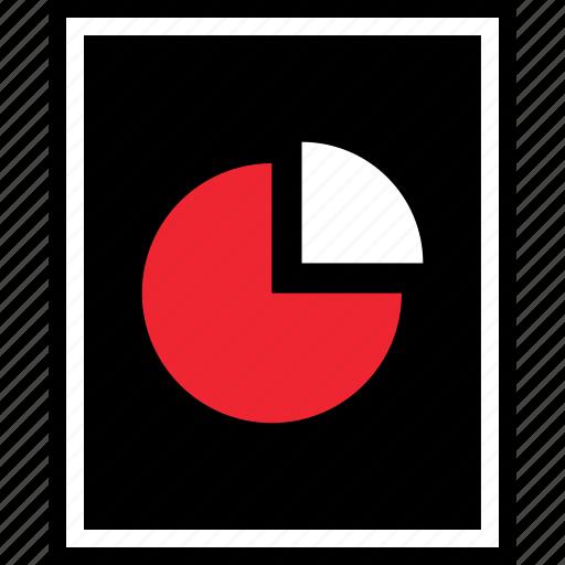 chart, graph, pie, seo icon