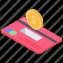 atm card, bank card, credit card, mastercard, smartcard icon