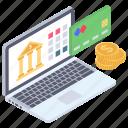 digital banking, ebanking, ecommerce, internet banking, online banking icon