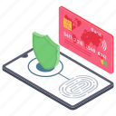 digital payment, mobile payment, online payment, safe payment, secure payment icon