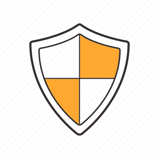 defence, defense, protection, safety, secure, security, shield icon