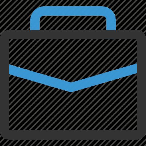 briefcase, case, documents icon