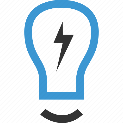 bulb, business, lightbulb icon