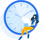 auction, business, clock, management, online, people, time
