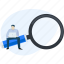 analysis, business, find, online, research, search, seo icon
