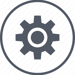 gear, options, rotate, setup icon