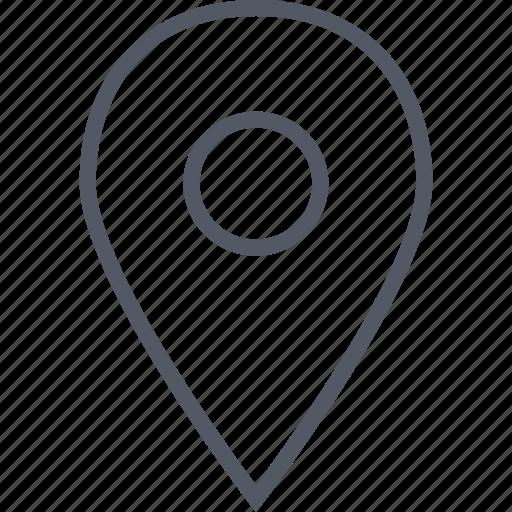 direction, gps, internet, locate, location, pin icon