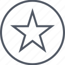 favorite, save, saved, special, star icon