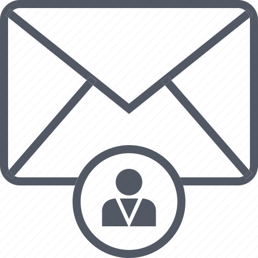 email, envelope, man, message, person, profile, user icon