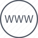internet, online, web, website, www icon