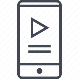 cell, description, phone, upload, youtube, youtuber icon