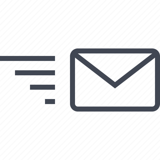 delivery, email, fast, mail, message, send icon