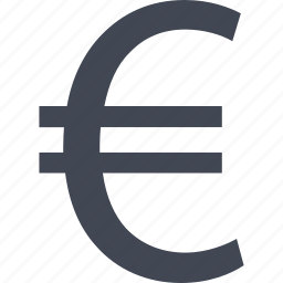 bank, banking, euro, money, sign, wealth icon