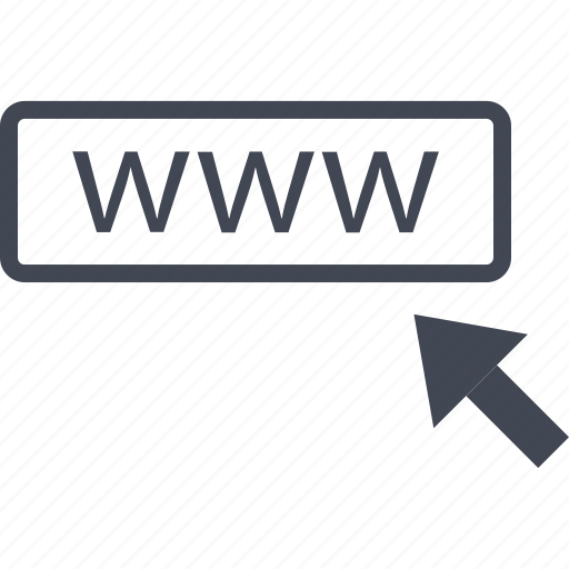 arrow, click, mouse, track, web, website, www icon