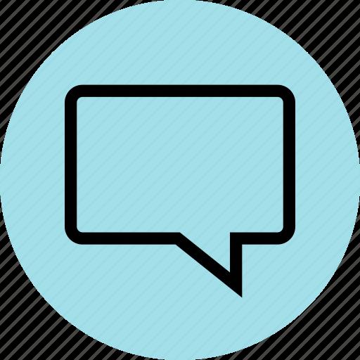 bubble, conversation, line, sms icon