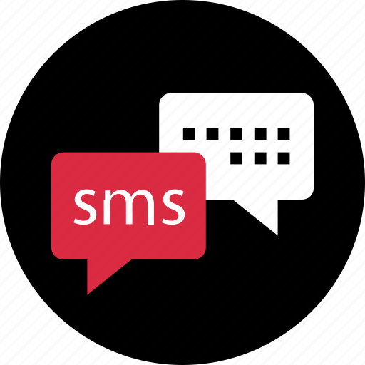 chat, double, sms, talk icon