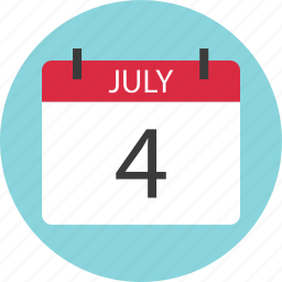 appointmetnt, calendar, event, four, holiday, july icon
