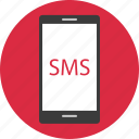 cell, message, mobile, online, phone, sms, text icon
