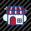 ecommerce, estate, home, house, market, shop, store