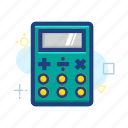 accounting, business, calculate, calculator, finance, math icon