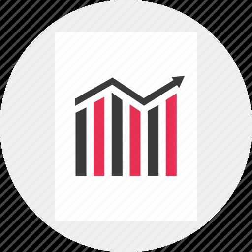 analytics, business, data, stock icon