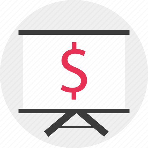 Board, business, dollar, sign icon - Download on Iconfinder