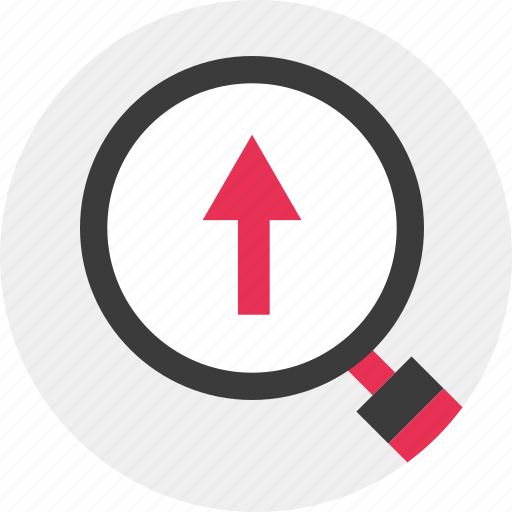 Business, growing, search icon - Download on Iconfinder