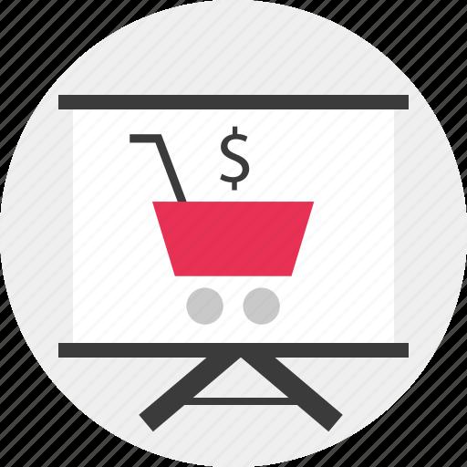 cart, ecommerce, online icon