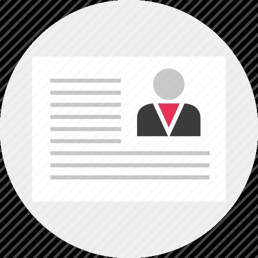 description, proposal, report icon