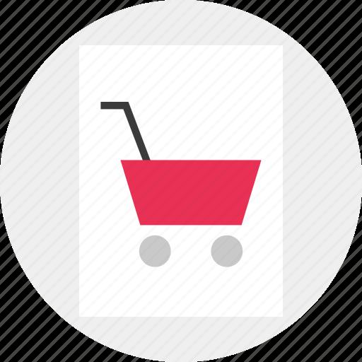 cart, dollar, shopping, sign icon