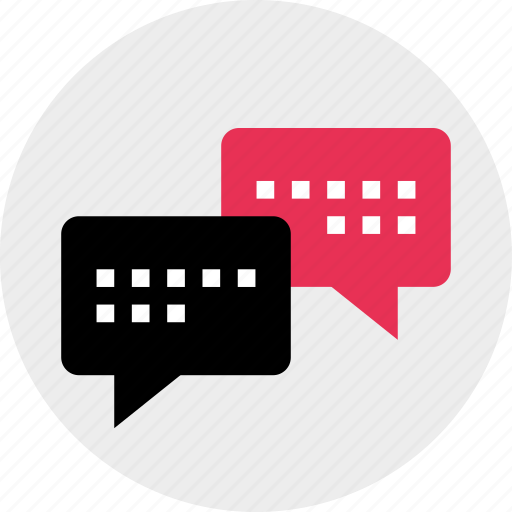 bubble, chat, connect, talk icon