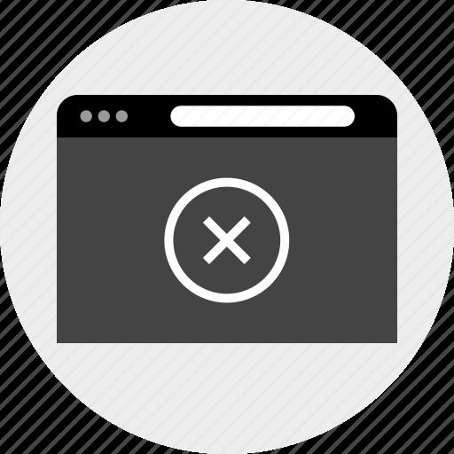 delete, design, x icon