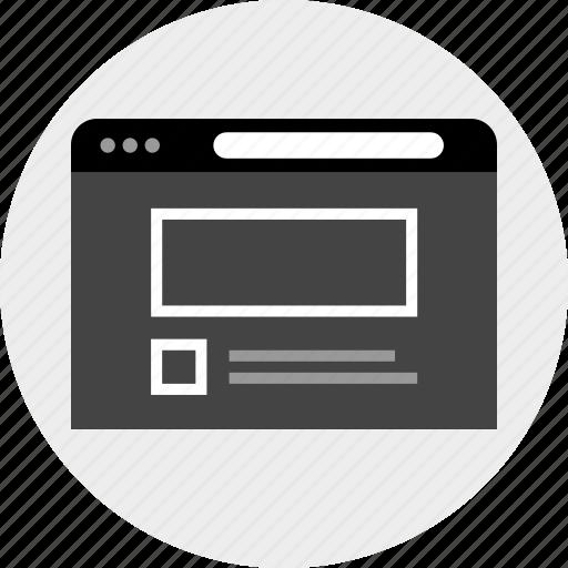internet, mockup, web icon